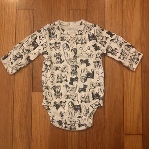 Dog Print Bodysuit